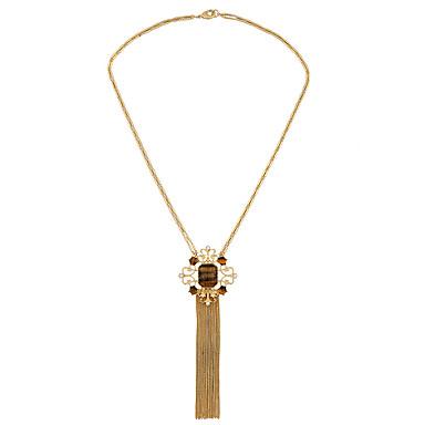 Γυναικεία Κολιέ με Αλυσίδα Κρυστάλλινο Μοντέρνα Εξατομικευόμενο Euramerican Χρυσό Κοσμήματα Για Γάμου Πάρτι 1pc