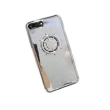 غطاء من أجل iPhone 7 Plus iPhone 7 iPhone 6s Plus أيفون 6بلس iPhone 6s ايفون 6 Apple فيدجيت سبينر اصنع بنفسك غطاء خلفي بريق لماع 3Dكرتون