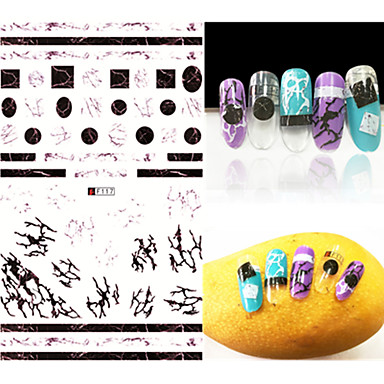 1 Nagelkunst sticker make-up Cosmetische Nagelkunst ontwerp