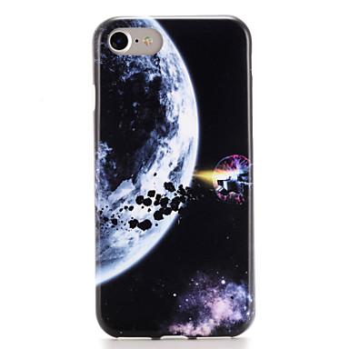 Etui Käyttötarkoitus iPhone 7 iPhone 7 Plus iPhone 6s Plus iPhone 6 Plus iPhone 6s iPhone 6 Apple Kuvio Takakuori Taivas Scenery Pehmeä