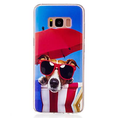 Kılıf Na Samsung Galaxy S8 S7 edge IMD Wzór Etui na tył Pies Miękkie TPU na S8 S7 edge S7 S6 edge S6 S5
