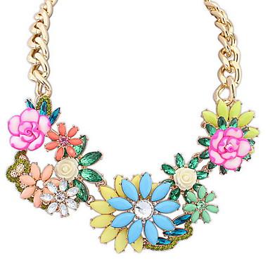 Damskie Pasemka Naszyjniki Biżuteria Biżuteria Kamień szlachetny Stop Modny euroamerykańskiej Biżuteria Na Impreza Specjalne okazje