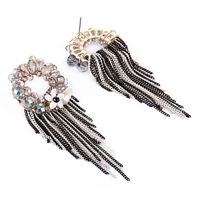 Cercei Set Cristal La modă Personalizat Euramerican Aliaj Auriu Bijuterii Pentru Nuntă Petrecere Zi de Naștere 1 pereche