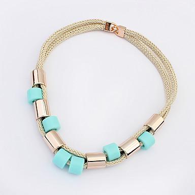 Damskie Naszyjniki choker Biżuteria Biżuteria Kamień szlachetny Stop Modny euroamerykańskiej Biżuteria Na Impreza Specjalne okazje