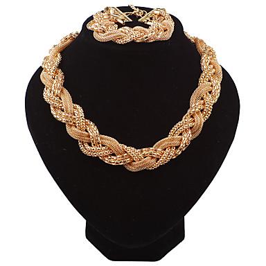 Pentru femei Seturi de bijuterii Colier / bratara Modă Euramerican Nuntă Petrecere Ocazie specială Zi de Naștere Logodnă Zilnic Aliaj 1