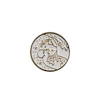 للمرأة دبابيس مجوهرات تصميم دائري موضة euramerican في مينا سبيكة Circle Shape مجوهرات من أجل زفاف حزب مناسبة خاصة يوميا فضفاض