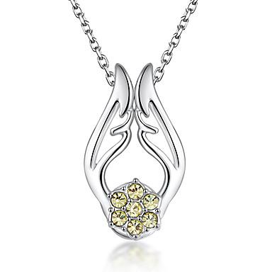 Damskie Naszyjniki z wisiorkami Kryształ Spersonalizowane Modny Słodkie Style euroamerykańskiej Biżuteria Na Ślub Impreza