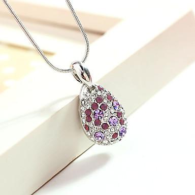 Damskie Naszyjniki z wisiorkami Kryształ Spersonalizowane Zwierzęta Modny euroamerykańskiej Biżuteria Na Ślub Impreza
