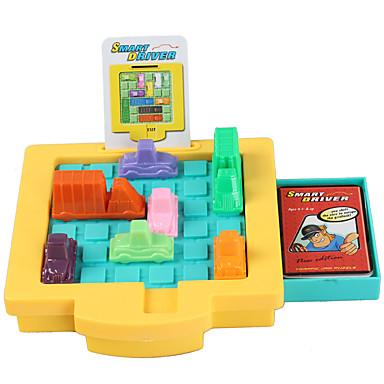 Tabla de joc Jucării Educaționale Jucării pentru mașini Jucarii Pătrat Mașină Bucăți Unisex Cadou