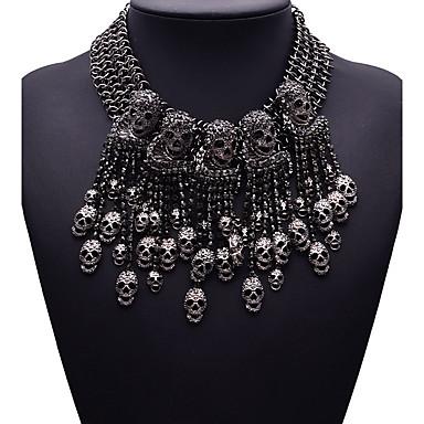 Kadın's Diğerleri şekil Euramerican Moda Açıklama Kolye Mücevher Sentetik Taşlar alaşım Açıklama Kolye Parti Hediye Kostüm takısı