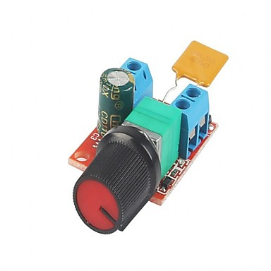 Dc motor snelheidsbesturing bestuurder bord 3v-35v 5a pwm controller stepless voltage regulator dimmer gouverneur schakelen bouwen met led