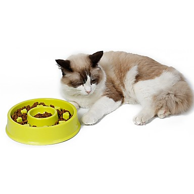 Pisici Câine Boluri & Sticle de Apă Distribuitoare de Hrană Animale de Companie  Castroane & Hrănirea Impermeabil Portabil Verde Albastru