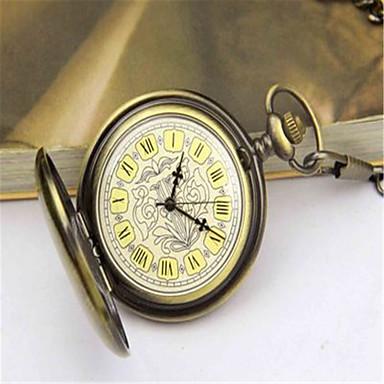 Heren Zakhorloge mechanische horloges Automatisch opwindmechanisme Legering Band Brons