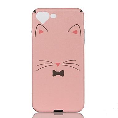 Maska Pentru iPhone 7 iPhone 7 Plus iPhone 6s Plus iPhone 6 Plus iPhone 6s iPhone 6 Apple Model Capac Spate Pisica Moale PU piele pentru