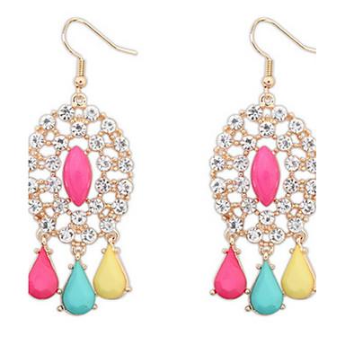 Dames Oorknopjes Druppel oorbellen Ring oorbellen Imitatie Parel imitatie Diamond Basisontwerp Uniek ontwerp Logostijl Bergkristallen