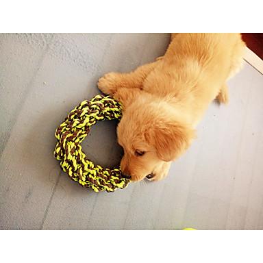 Hondenspeeltje Huisdierspeeltjes kauwspeeltjes Touw Katoen Voor huisdieren