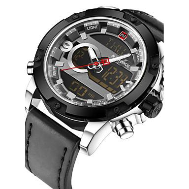 Bărbați Ceas de Mână Unic Creative ceas Ceas Casual Ceas digital Ceas Sport Ceas Militar  Ceas La Modă Japoneză Quartz Piloane de