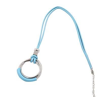 Pentru femei Rotund Personalizat Design Circular Boem Euramerican Turcă Lănțișoare Bijuterii Piele Aliaj Lănțișoare . Cadouri de Crăciun