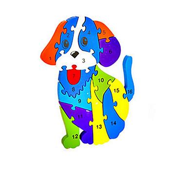 Legpuzzels DHZ-kit Bouw blokken DHZ-speelgoed Honden