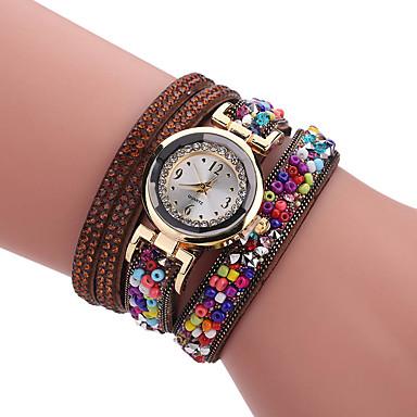 Pentru femei Quartz Ceas Brățară cald Vânzare PU Bandă Charm Lux Creative Casual Elegant Modă Cool Multicolor
