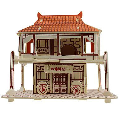 3D - Puzzle Spielzeuge Architektur Holz Unisex Stücke