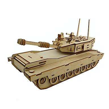 3D - Puzzle Panzer Spaß Holz Klassisch