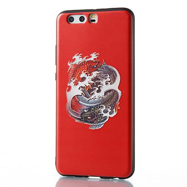 من أجل أغط / كفرات نموذج غطاء خلفي غطاء حيوان ناعم TPU إلى HuaweiHuawei P10 Plus Huawei P10 Lite Huawei P10 هواوي P9 Huawei P9 Lite