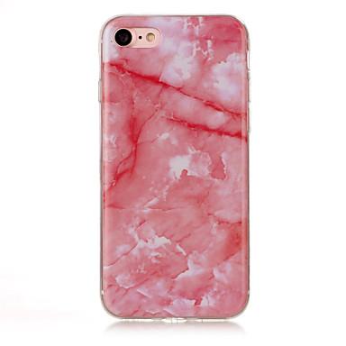 hoesje Voor Apple iPhone 7 Plus iPhone 7 IMD Achterkant Marmer Zacht TPU voor iPhone 7 Plus iPhone 7 iPhone 6s Plus iPhone 6s iPhone 6