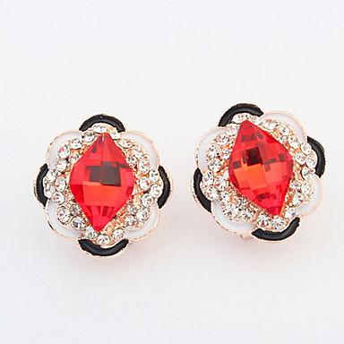 Dames Oorknopjes Druppel oorbellen Ring oorbellen Bergkristal Basisontwerp Uniek ontwerp Logostijl Bergkristallen Vriendschap Turks