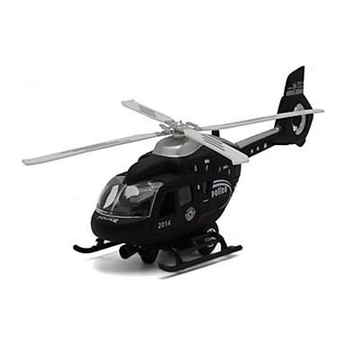 Speeltjes Modelbouwsets Helikopter Speeltjes Simulatie Vliegtuig Eagle Helikopter ABS Metaallegering Metaal Stuks Unisex Geschenk