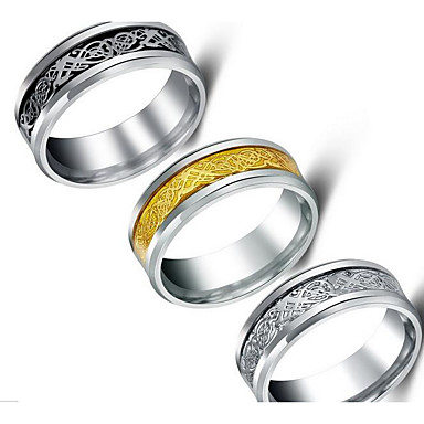 Dames Ring Sieraden Standaard Roestvrijstaal/ijzer Sieraden Voor Verjaardag Dagelijks gebruik Dagelijks