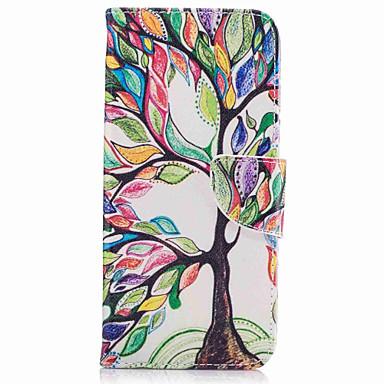 غطاء من أجل Samsung Galaxy S8 Plus S8 حامل البطاقات محفظة مع حامل قلب نموذج كامل الجسم شجرة قاسي جلد اصطناعي إلى S8 S8 Plus
