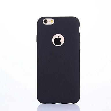 غطاء من أجل Apple iPhone 7 Plus iPhone 7 IMD غطاء خلفي لون الصلبة ناعم TPU إلى iPhone 7 Plus iPhone 7 iPhone 6s Plus ايفون 6s iPhone 6