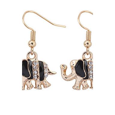 للرجال للمرأة أقراط قطرة مجوهرات الماس الاصطناعية مخصص تصميم فريد تصميم الحيوانات قديم أساسي مثيرة موضة اسلوب لطيف euramerican في حجر