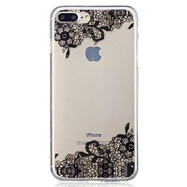 Pentru Apple iPhone 7 7 plus 6s 6 plus se 5s 5 diagonală model de flori pictat de mare penetrare tpu material imd procesul caz moale caz