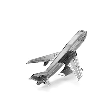 قطع تركيب3D مجموعات البناء طيارة لهو الفولاذ المقاوم للصدأ كلاسيكي
