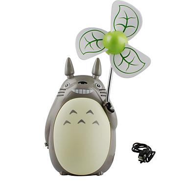 مروحة تبريد الهواء تصميم المحمولة LED بارد ومنعش ضوء ومريحة أوسب معيار عالمي USB