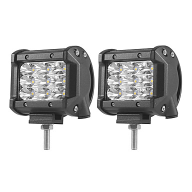 2pcs سيارة لمبات الضوء 27W SMD 3030 5400lm LED ضوء العمل