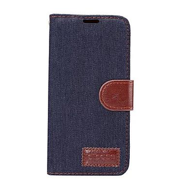 Hülle Für Samsung Galaxy A7(2017) A5(2017) Kreditkartenfächer mit Halterung Flipbare Hülle Handyhülle für das ganze Handy Volltonfarbe