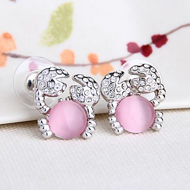 Dames Oorbel Synthetische Opaal Modieus PERSGepersonaliseerd Euramerican Synthetische Edelstenen Legering Sieraden Sieraden Voor Bruiloft