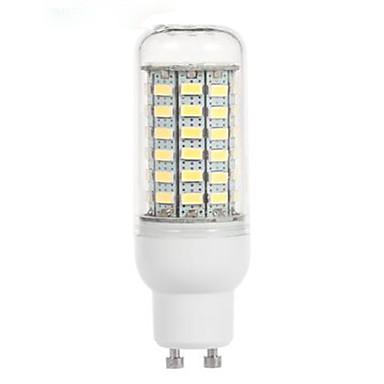4.5W 200-300lm GU10 LED Mais-Birnen 69 LED-Perlen SMD 5730 Kühles Weiß 220-240V / 1 Stück
