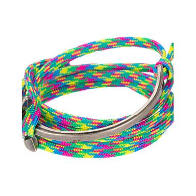 Heren Wikkelarmbanden Lederen armbanden Sieraden Natuur Modieus Leder Legering Sieraden Speciale gelegenheden  Sport