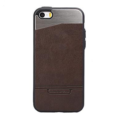 Hülle Für Apple iPhone 8 iPhone 8 Plus Stoßresistent Beschichtung Rückseitenabdeckung Volltonfarbe Hart Metall für iPhone 8 Plus iPhone 8