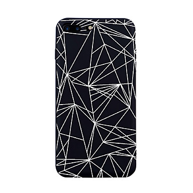 Case For Apple iPhone X iPhone 8 Pattern Back Cover Lines / Waves Tile Geometric Pattern Soft TPU for iPhone X iPhone 8 Plus iPhone 8