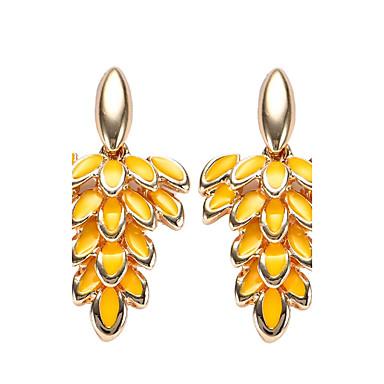 Dames Druppel oorbellen Bohémien arylic Legering Bladvorm Sieraden Feest Dagelijks Causaal Toneel Kostuum juwelen