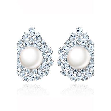 Pentru femei Cercei Stud Bijuterii Design Unic La modă Euramerican Perle Zirconiu Aliaj Bijuterii Bijuterii PentruNuntă Zi de Naștere