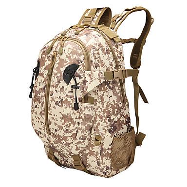 35l L حقيبة ظهر حقيبة الظهر التخييم والتنزه متعددة الوظائف نايلون الصحراء الرقمية