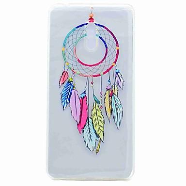 Voor Nokia 6 case cover doorschijnend patroon achterkant behuizing droomvanger tpu soft tpu case