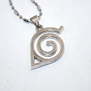 Mehre Accessoires Inspiriert von Naruto Naruto Uzumaki Anime Cosplay Accessoires Halsketten Aleación