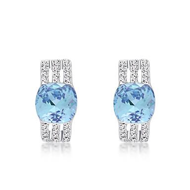 Dames Oorbel Sieraden Gepersonaliseerde Modieus Euramerican Kristal Legering Sieraden Sieraden Voor Bruiloft Feest